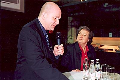 Agenda-Debatte mit Bärbel Höhn